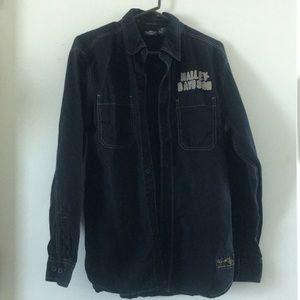 Harley Davidson button up